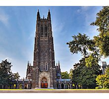 The Gothic Cathedral of Duke University Photographic Print