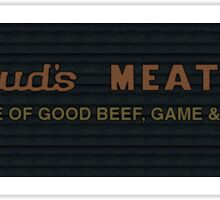 Fargo - Bud's Meats Sticker