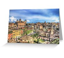 City of Rome Greeting Card