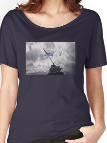 Iwo Jima Memorial Women's Relaxed Fit T-Shirt
