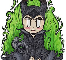 Maleficent by Holly Chapman