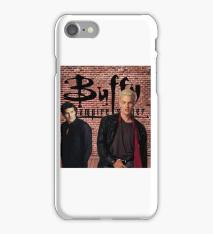 Buffy Angel Spike  iPhone Case/Skin