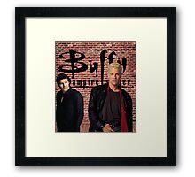 Buffy Angel Spike  Framed Print