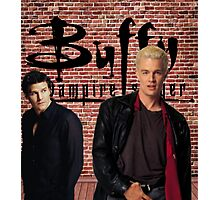 Buffy Angel Spike  Photographic Print