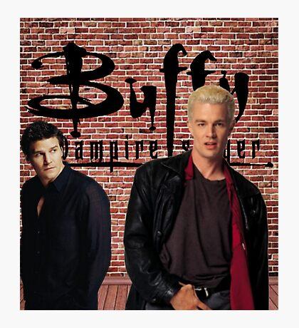 Buffy Angel Spike  Photographic Print