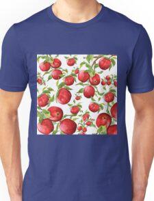 red apple pattern Unisex T-Shirt