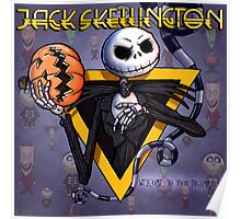 Jack Skellington : welcome to your nightmare Poster