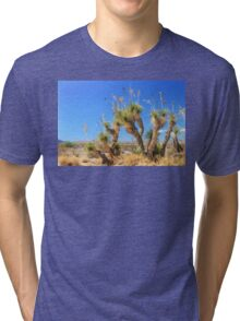 Cast of Old Desert Characters Tri-blend T-Shirt