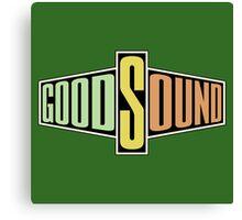 Good sound Canvas Print