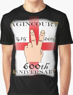 Battle of Agincourt 600th Aniversary Graphic T-Shirt
