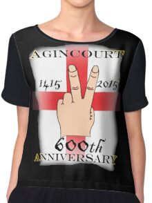 Battle of Agincourt 600th Aniversary Chiffon Top