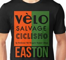Velo Salvage Easton design  Unisex T-Shirt