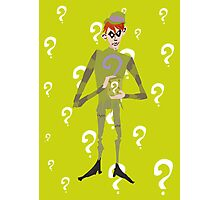 The Riddler Photographic Print