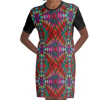 Diffractional One Graphic T-Shirt Dress
