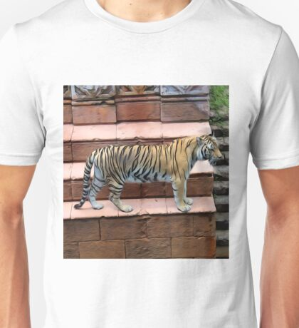 Tiger - Oil Painting Unisex T-Shirt