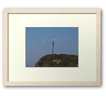 Lonely Power Pole  Framed Print