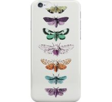 Techno Moth Collection iPhone Case/Skin