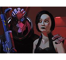 Best Couple in the Galaxy Photographic Print