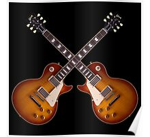 The vintage gibson les paul Poster