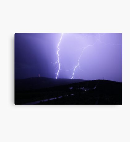 Lighting Canvas Print