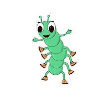 Green Caterpillar by Almdrs