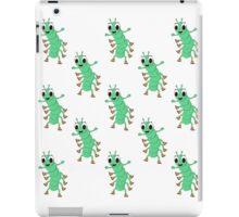 Green Caterpillar iPad Case/Skin