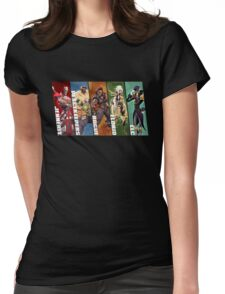 Battleborn characters Womens Fitted T-Shirt