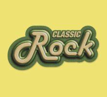 Old classic rock Kids Tee
