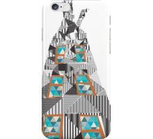 geometric building iPhone Case/Skin