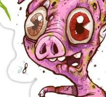 Pork Zombie Sticker