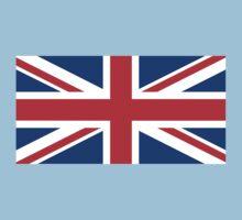 United Kingdom Flag One Piece - Short Sleeve