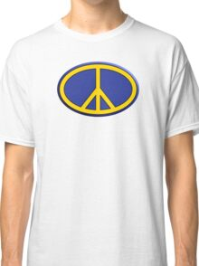 Oval hippie peace sign Classic T-Shirt