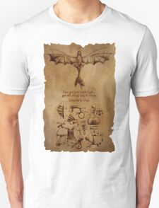 DaVinci's Dragon (Hiccup's Sketchbook) T-Shirt