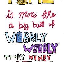 Wibbly wobbly by Ispeakfandom