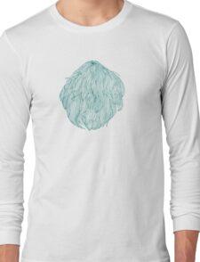 Green hair bubble Long Sleeve T-Shirt