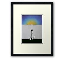 Meditation Abstract 3 Framed Print