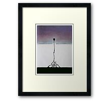 Meditation Abstract 7 Framed Print