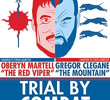 Mountain vs The Red Viper by Adubdesigns