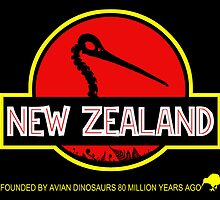 New Zealand: Kiwi Skull by PurpleMoose