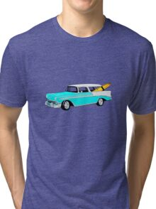 56 Nomad by the Sea in the Morning Tri-blend T-Shirt