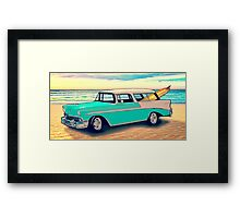 56 Nomad by the Sea in the Morning Framed Print