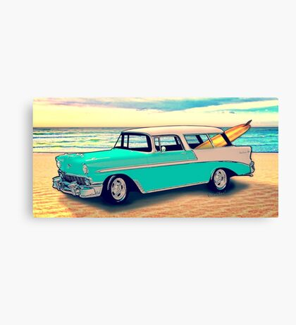 56 Nomad by the Sea in the Morning Canvas Print