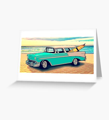 56 Nomad by the Sea in the Morning Greeting Card