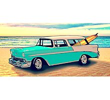 56 Nomad by the Sea in the Morning Photographic Print