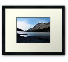 Icefields In Summertime Framed Print
