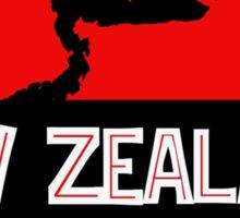 New Zealand: Kakapo Skull Sticker