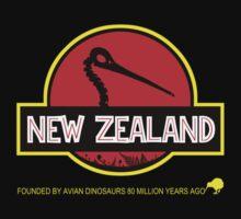 New Zealand: Kiwi Skull by PurpleMoose
