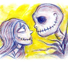 Jack & Sally by Lincke