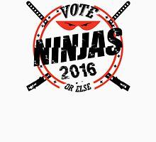 Ninjas for President 2016 Men's Baseball ¾ T-Shirt