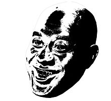 Ainsley Harriott's dark side Photographic Print